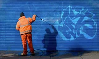 eliminacion de grafitis en madrid