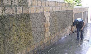 limpiezas de fachadas exteriores