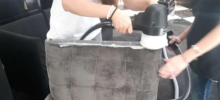 limpieza de tapicerías en seco